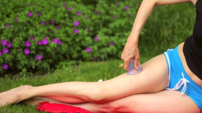 массаж баночный