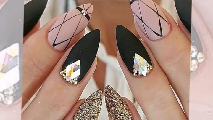 Форма ногтей стилет, 25 фото оригинального дизайна, как сделать на коротких ногтях