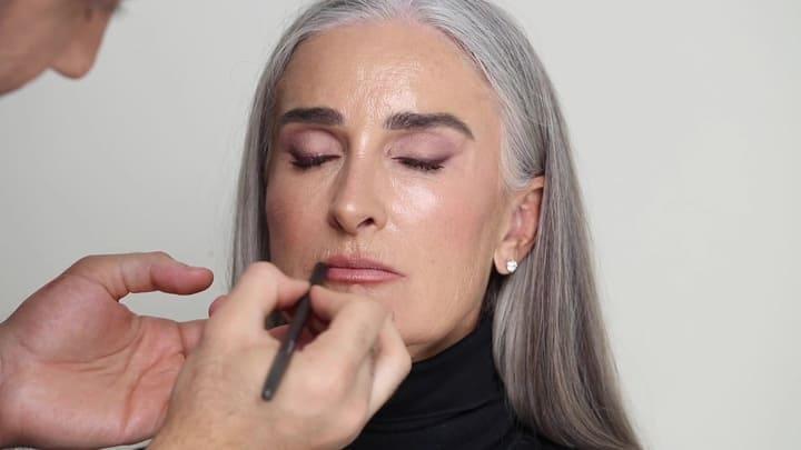 возрастной макияж для женщины