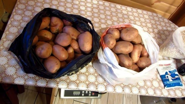 самогон с картофелем