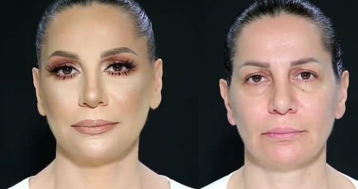 макияж после 50