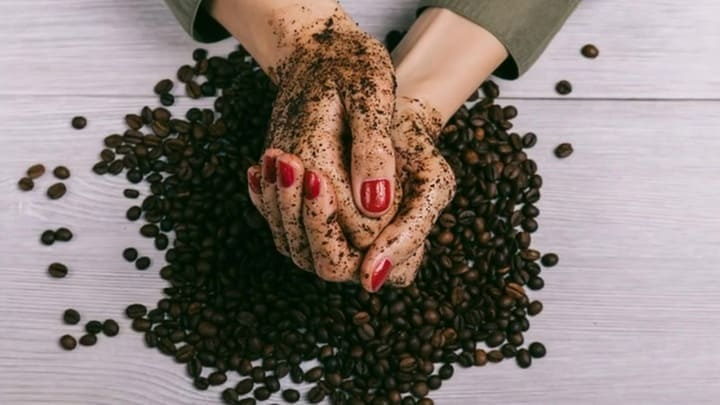 кофейный пилинг для тела