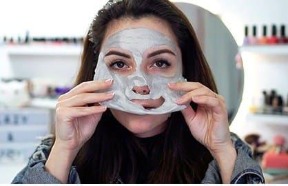 платиновая маска