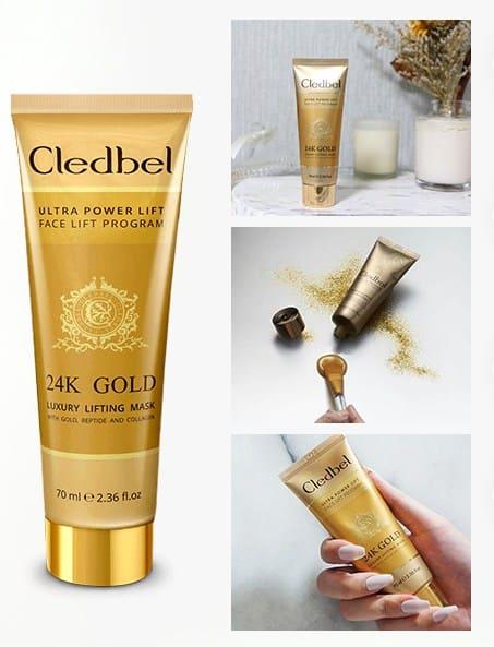 Credbel 24K Gold - маска- пленка с лифтинг-эффектом.