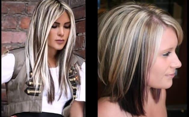 мелирование на русые волосы до и после