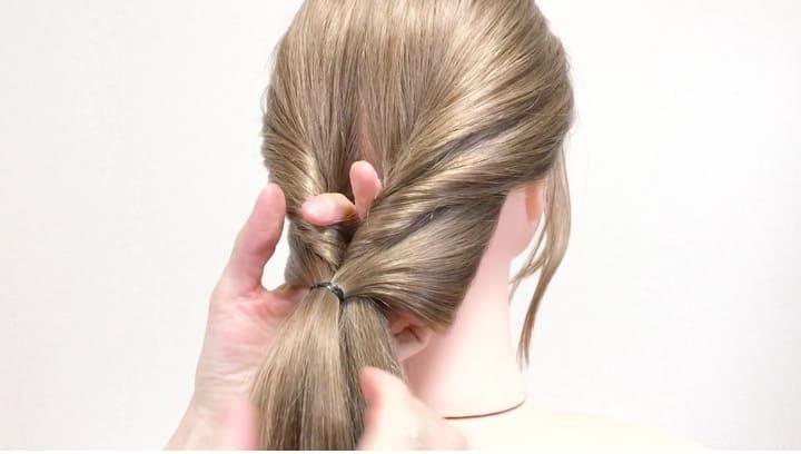 Укладка на длинные волосы Просто и стильно