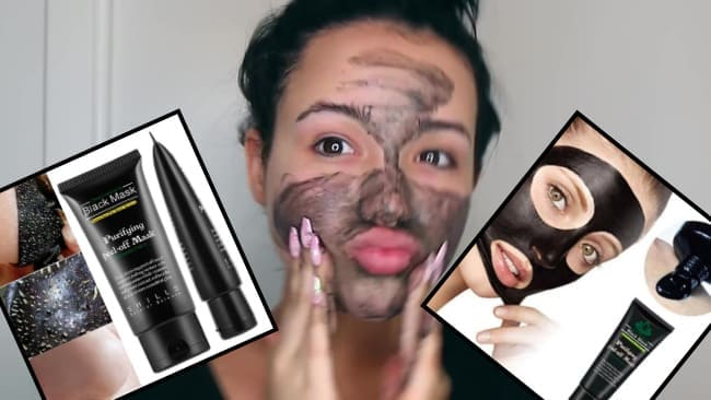 Черная маска для лица: лучшие бренды с углем от черных точек аптечных средств
