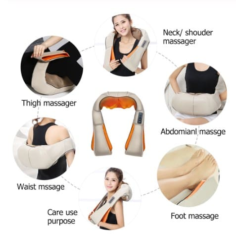 массажер шиацу для шеи и спины