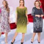 Платья для полных женщин: выбираем в каталоге стильные и недорогие, что и с чем сочетать, чтобы всегда выглядеть по-королевски