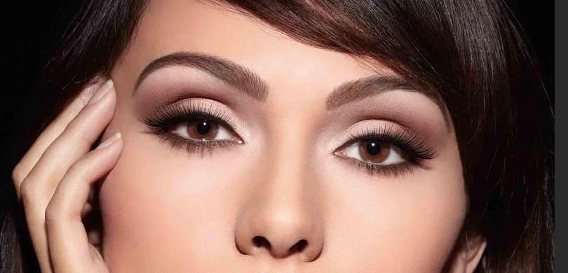 как нарисовать стрелки на миндалевидные глаза
