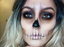 Макияж на Хэллоуин Самая страшная и красивая