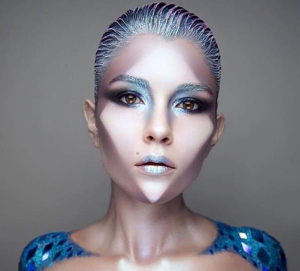 Страшный макияж на Хэллоуин 20 супер образов: черный макияж, летучей мыши, ведьмы, русалки, куклы, дьяволицы